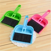 Decorative fashion creative plastic broom with dustpan household supplies