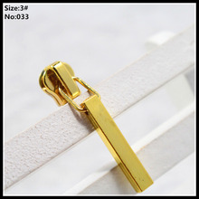 3# Wholesale 10pcs Zipper Sliders Metal Zipper Pulls zipper Head For Handbag/ Backpack/Clothing/Sewing Tailor Tools 033