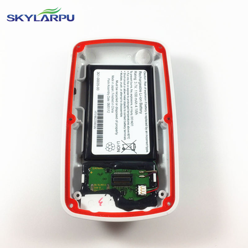 skylarpu rear cover for GARMIN EDGE 800 bicycle speed meter back cover With Battery Repair replacement Free shipping<br>
