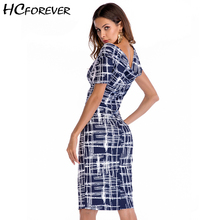 Buy Summer Sexy Midi Office Plaid Women Dress Bodycon Elegant Black Blue Wrap Pencil Work Ladies Party Sheath Dresses 2018 Casual for $17.86 in AliExpress store