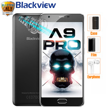 Blackview A9 PRO Mobile phone MT6737 Quad Core Dual Rear Cameras Android 7.0 Smartphone 5.0 ''HD 2GB RAM 16GB ROM 4G SmartPhone(China)