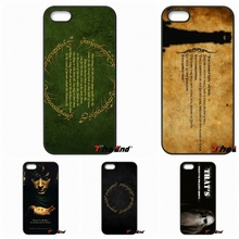 For Motorola Moto E E2 E3 G G2 G3 G4 PLUS X2 Play Style Blackberry Q10 Z10 Popular Lord Of The Rings Quote Print Phone Case