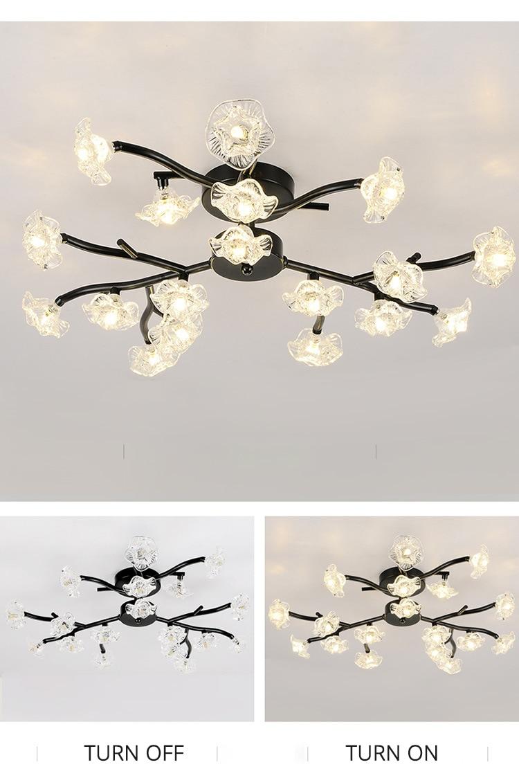 DX Vintage Flower Ceiling Light (12)