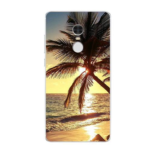 Sunset Tower Case For Xiaomi Redmi 3 3S 4A 4X 4 4S Note 3 4 4X cover