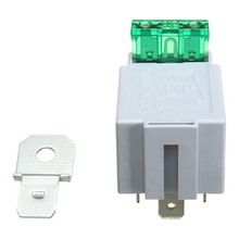 100PCS/LOT Car 12V 4 ON/OFF Pin Relay Fitted With 30Amp Fuse Normally Open Contacts(China)