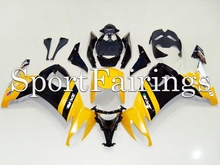 Fairings Fit Kawasaki ZX10R ZX-10R Year 2008 2009 2010 08 09 10 ABS Motorcycle Full Fairing Kit Bodywork Cowling Yellow(China)
