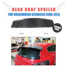Carbon Fiber Rear Roof Window Wing Lip Spoiler For VW Scirocco 2008-2013 Custom Spoiler Car Styling