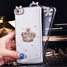 for Lenovo S850 case handmade luxury diamond hard cell phone case for Lenovo S850 case of retail and wholesale