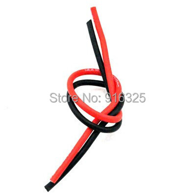 1meter Red+1meter Black 14# 14 AWG 14AWG Heatproof Soft Silicone Silica Gel Wire Connect Cable For RC Model Battery Part WOW-34<br><br>Aliexpress