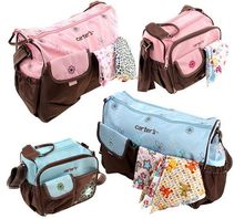 2pcs maternidade baby mummy nappy mother bag baby diaper bags set