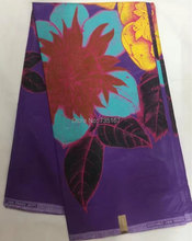 6yds/lot! purple, very beautiful african wax printed fabric good quality java wax fabric for party dress! JW70506-14