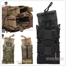 NEW Sinairsoft Emersongear Double Decker Magazine Pouch military army bag Utility Pouch MOLLE 1000D multicam black coyote brown