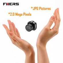 Fuers Y2000 Micro Small Portable HD CMOS 2.0 Mega Pixel Pocket Video Audio Digital Camera Mini Camcorder 640*480 480P DV DVR