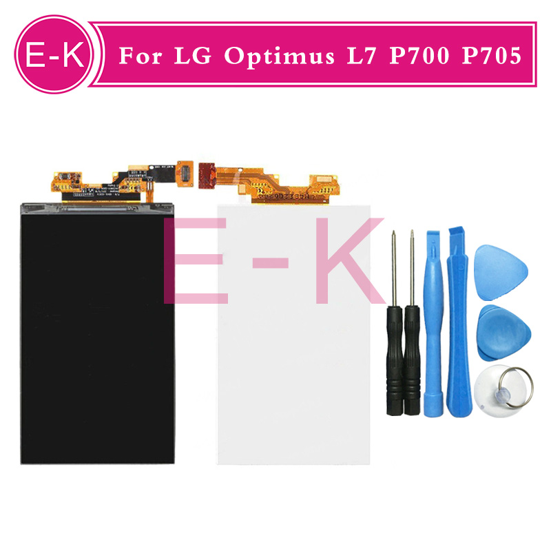 Original For LG Optimus L7 P700 P705 P715 LCD display Screen Replacement + Tools Free shipping<br><br>Aliexpress