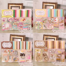 handmade paper card craft making supplies,idea for birthday gift card,making greeting card kit