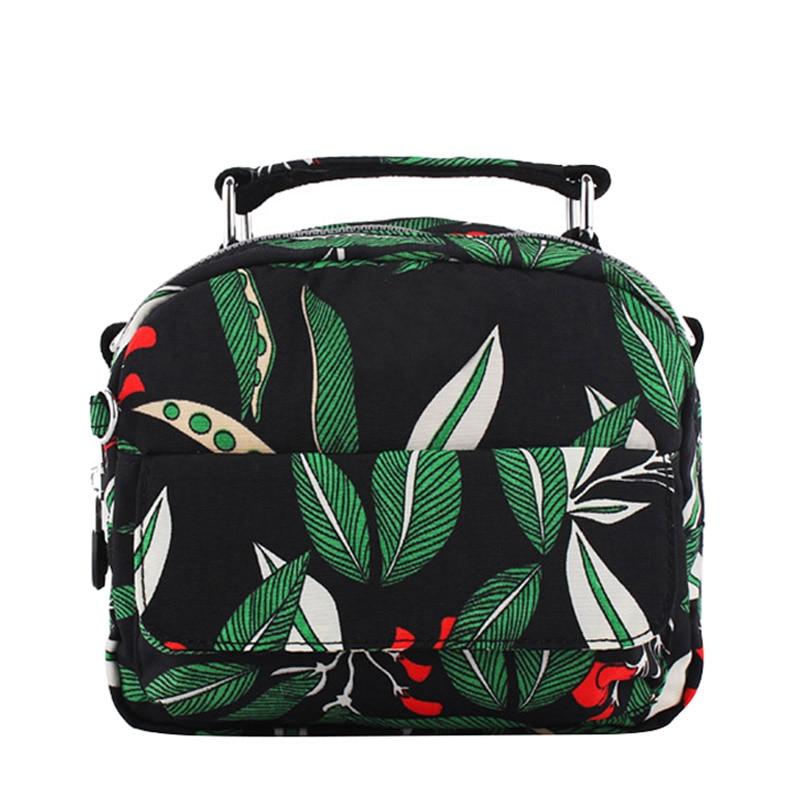 Fashion Women Small Flap Messenger Bags Print Floral Crossbody Shoulder Canvas Bag Nylon Womens Handbag Bolsas Femininas <br><br>Aliexpress