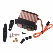 For CYS-S8218 Digital Metal 40KG High Gear Torque Servo 0.18s 38kg 1:5 RC Plane Car -B116
