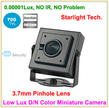 Lihmsek Cheapest!  Super Mini Starlight Camera 0.00001lux Low Lux D/N Color image Miniature Camera 700tvl security product