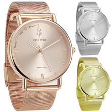 Women Watches Brand Top Luxury Ultrathin 40mm Casual Rose Gold Quartz Wristwatches Relogio Feminino Montre Femme Relojes(China)