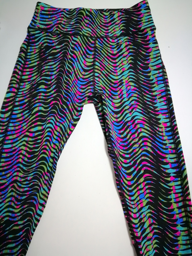 2 Pieces Striped Printed, Women's Tracksuit, Crop Top, Tanks And Leggings 9