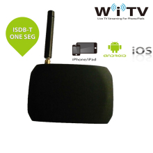 Digital Wirelss WiFi Mobile DVB-T ISDB-T Full Seg Live TV Link Tuner Stick Receiver For iPad iPhone Android Pad Phone Tablet