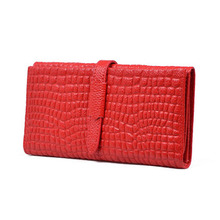Special Offer Fast Shipping Stone Pattern Genuine Leather Women Wallet Purse Clutch Money Coin Holder,