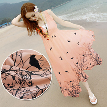 (50 cm/lot) 100% silk chiffon fabric for sewing printed nude fabric 6 momme zakka patchwork fabric scarf fashionable dress DIY