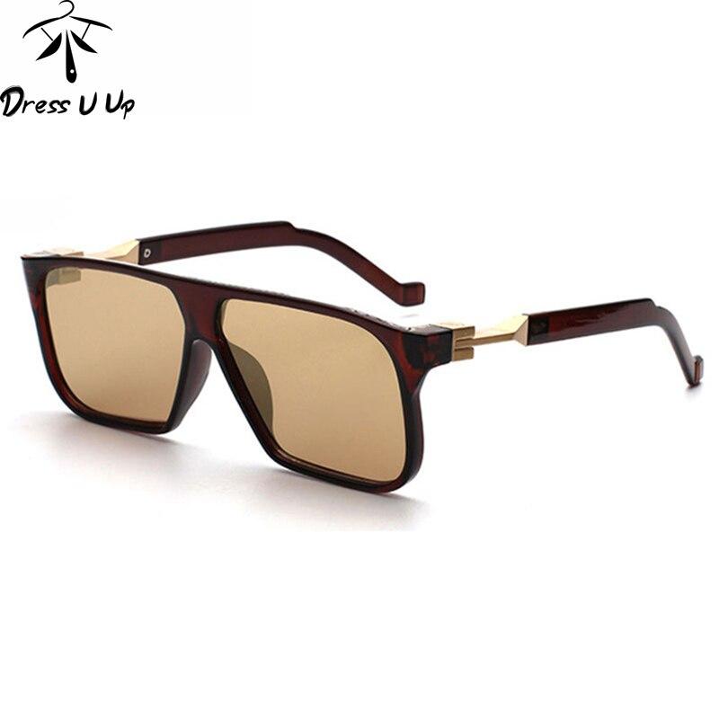 The Most Famous High Quliaty Rectangle Sunglasses Men Brand Designer Mens Coating Sun Glasses oculos de sol masculino lunettes<br><br>Aliexpress