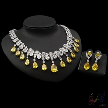 Beautiful multi stone Jewelry set from Guangzhou Yulaili company