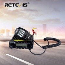 Retevis RT-9000D Car Walkie Talkie Mobile Radio Transceiver VHF (or UHF) 60W 200CH Scrambler CTCSS/DCS For Bus Truck Lorry+Cable