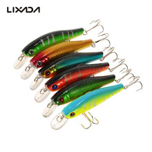 6PCS Bass Fishing Lure Kit 8.5cm 9g Fishing Lures Minnows Wobblers Crankbait Artificial Bait With Hook Fishing Gear Leurre Pesca(China)