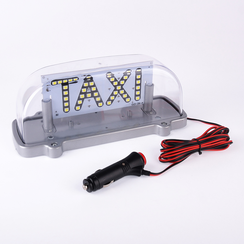 ZYHW Brand 10 12V Transparent Taxi Top Light 5.76w Waterproof Red White Blue Green taxi lamp<br><br>Aliexpress