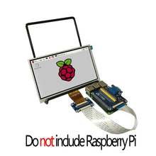 Raspberry Pi 7 inch LCD 7inch 1024x600 display and VGA Connector DPI driver(China)