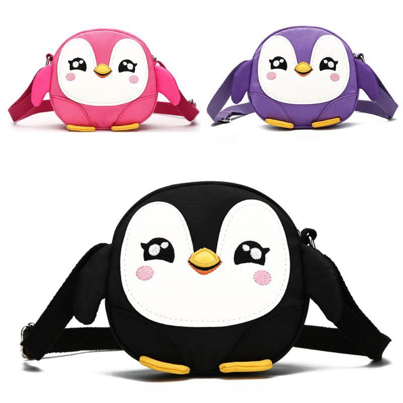 Pororo poco Alas de Ángel bebé pingüino Mochilas Jardín de Niños con bolsas de arnés
