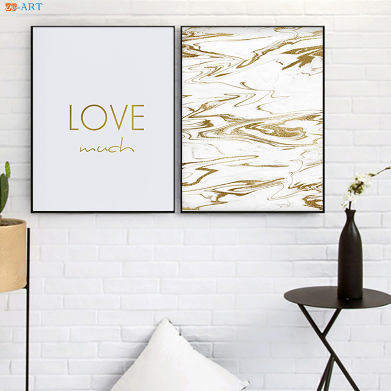 Home office wall art Canvas Live Laugh Love Prints Gold Letter Poster Girls Room Decor Gold Marble Wall Art Home Office Decor Canvas Painting The Divine Diva Shop The Divine Diva Shop Drop Gecko Live Laugh Love Prints Gold Letter Poster Girls Room Decor Gold