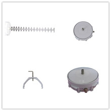 dvb t2 antenna 1838/2278mhz integrated mmds downconverter screw dish tv antenna for africa market(China)
