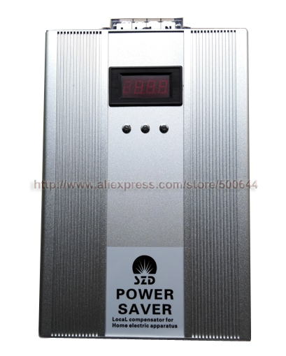 500KW 3 Phase Energy Saver with LED Screen 500KW Triphase Power Saver Electricity Compensator Energy Saving Tool for Industry(China)