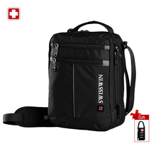 Buy SWISSWIN fashion messenger men bag business shoulder bag black handy crossbody bag business casual bags oxford satchel SWB026 for $22.12 in AliExpress store