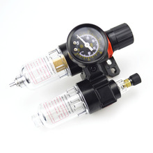 "G1/4"" Air Filter Regulator Pneumatic Parts Air Source treatment unit pressure regulator Oil/water separation AFC2000"