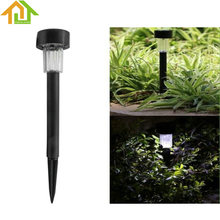 White Light LED Solar Lawn Light Garden Outdoor Landscape Stake Path Lamp(China)