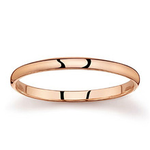High quality simple fashion superfine couple small ring wedding finger ring for lovers copper ring