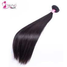 Malaysian Straight Hair Ms Cat Hair Products 1 Bundle Natural Black Remy Human Hair Extensions Free Shipping(China)