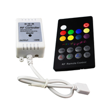 20pcs/pack 18Key led rgb controller mini ir remote music controller DC 12-24V 6A 3 channel for 5050 3528 5630 RGB LED Strip(China)