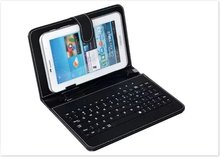 Keyboard  7 8 9 10 inch tablet case for Micro USB Keyboard Case cover to Plate Tablet Device