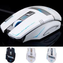 NEW V5 Rechargeable Gaming Wireless Mouse 2400DPI Gamer High Quality Performance Silence Mute Quiet keys USB Opticial Laptops PC