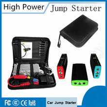 Portable Multi-Function 12V Car Jump Starter Emergency 400A Peak Car Charger 5V 2A Mini Power Bank SOS Lights Free Ship