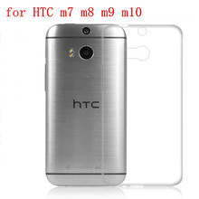 Transparent Soft TPU Silicon 5.0inchs  for HTC One M8 Case For HTC One M8 M8s Cell Phone back Cover Case