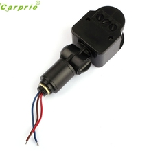 CARPRIE 1pcs Outdoor DC 12V Automatic Switch Infrared PIR Motion Sensor Switch for LED Light Panel Circuit Breakers #0117(China)
