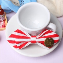 Mantieqingway New Arrival Children Cool Bow Tie Baby Boy Kid Leopard Accessories Striped Dot Cotton Bow Tie Wedding party Gifts(China)
