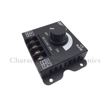 3PCS DC 12V 24V 30A Balck LED Dimmer Switch Brightness Controller for single color 5050 3528 5630 led lamp strip light(China)